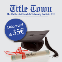 Title Town Doktortitel kaufen