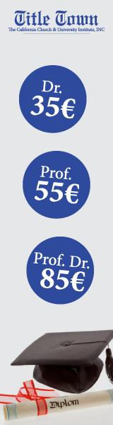 Dr. Titel kaufen