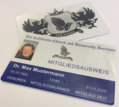 CCU Mitgliedsausweis